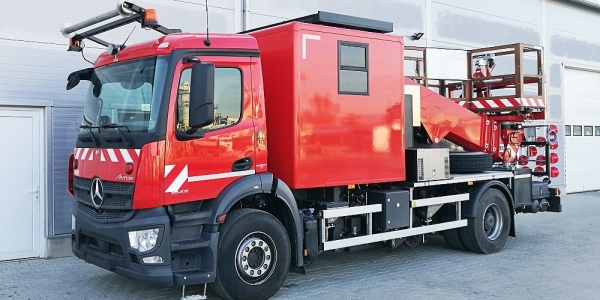 Special superstructures for trucks